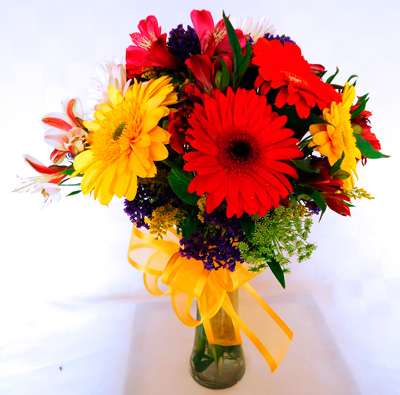 Florero bouquet mixto