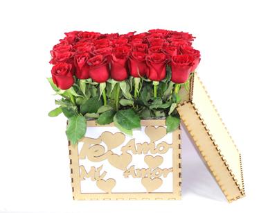 Caja mágica te amo mi amor.