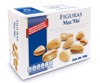 Galleta Rellena Mac' Ma 150g