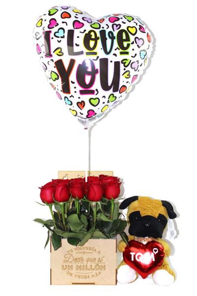 Set Peluche Sorpresa Love You