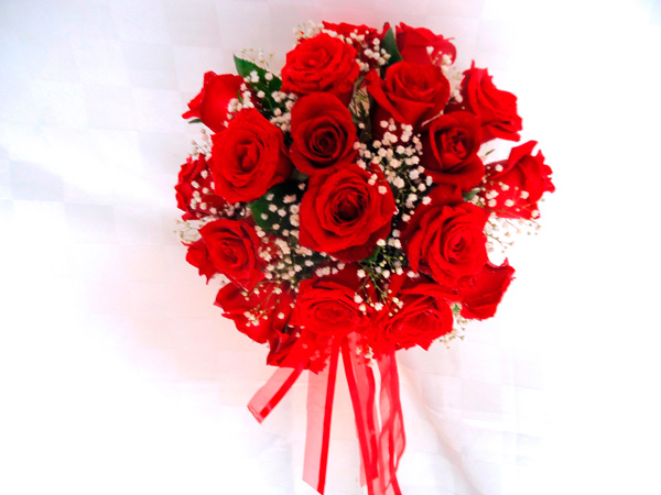 Bouqueth de rosas rojas