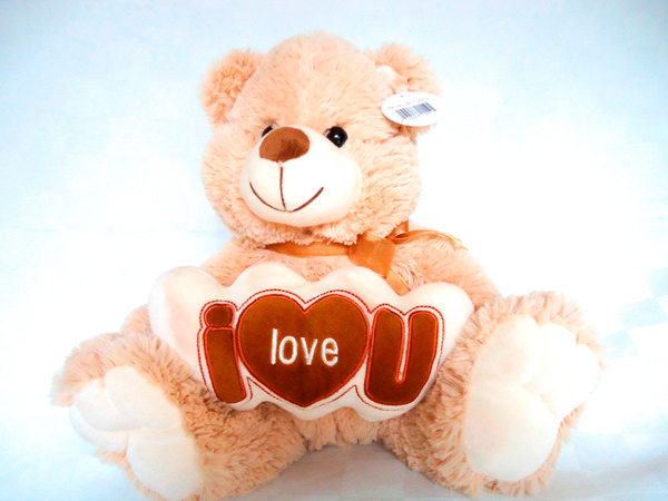 Oso de peluche i love you