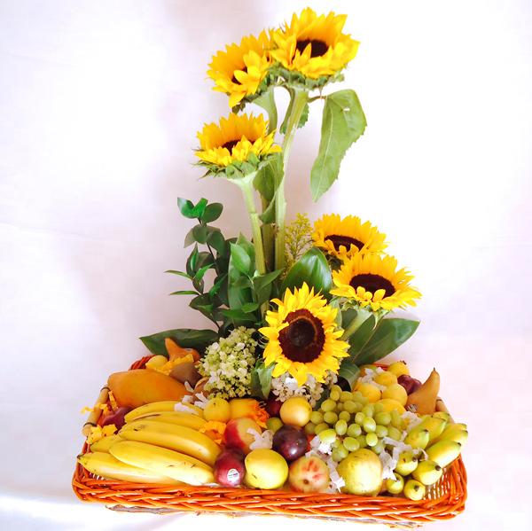 Frutal floral girasoles