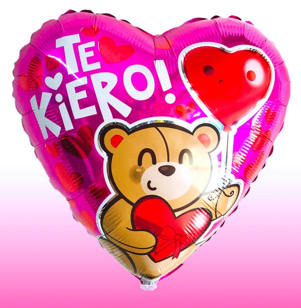Globo te quiero con helio