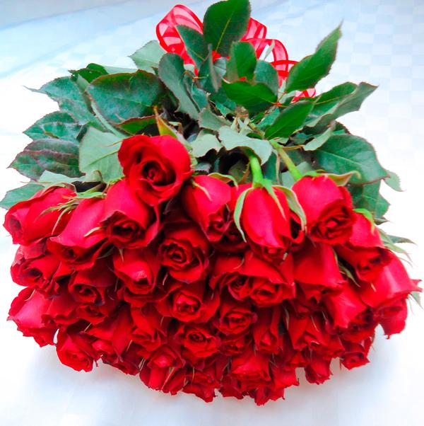 Bouquet de rosa rojas