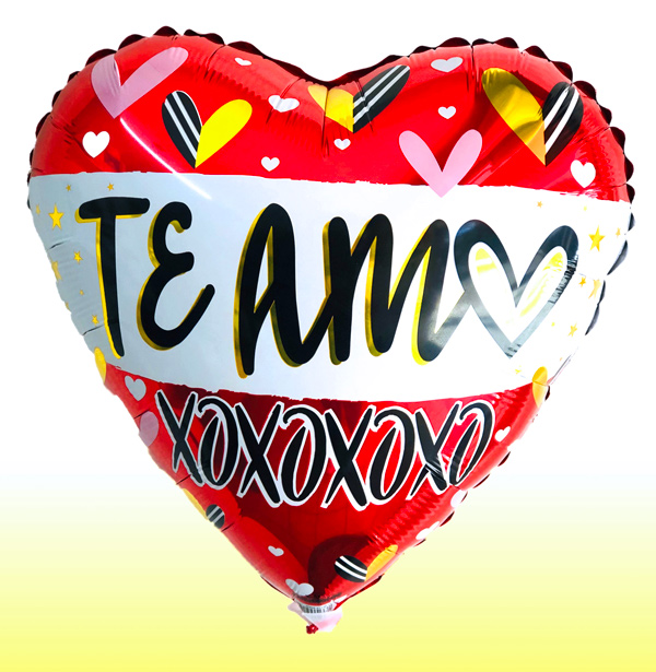 Globo te amo con helio