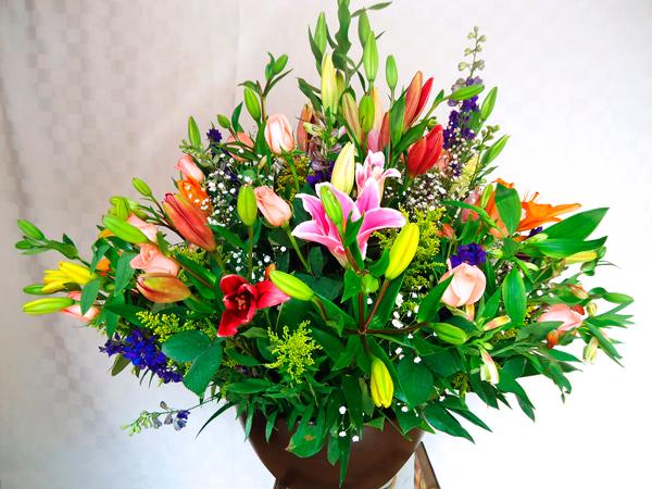 Arreglo floral primavera redondo
