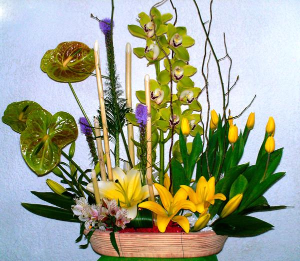 Arreglo floral exótico