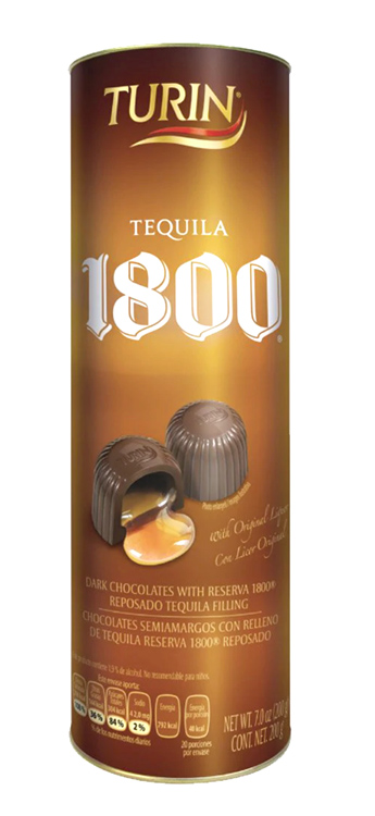 Chocolate Turín Relleno de Tequila 1800