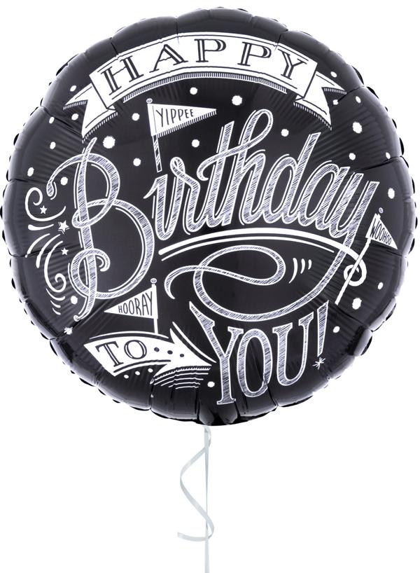 GLOBO CON HELIO HAPPY BIRTHDAY TO YOU