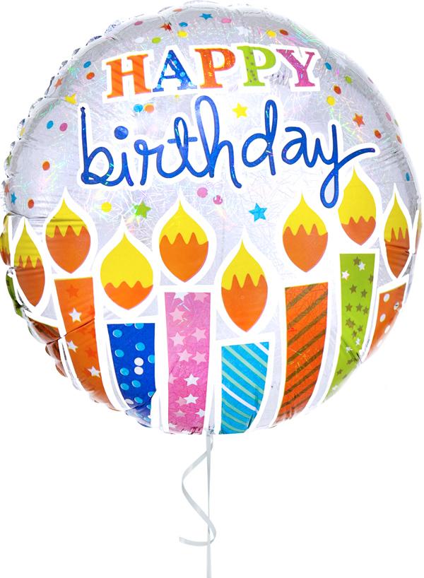 GLOBO CON HELIO SHIMMER BIRTHDAY