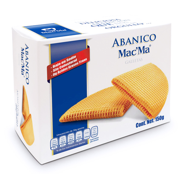 Galleta Abanico Mac' Ma 150g