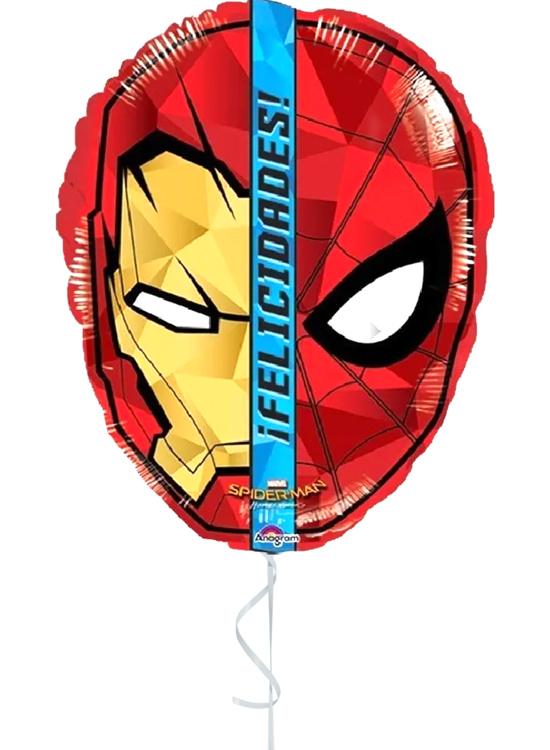 Globo con Helio Spiderman Felicidades