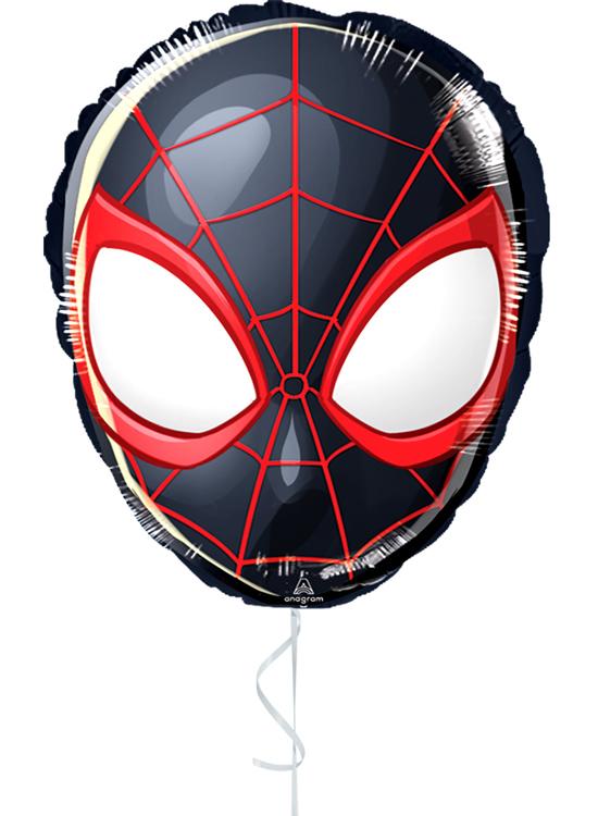 Globo con Aire Spiderman Negro