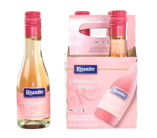 Riunite Lambrusco Rosé 4 Pack