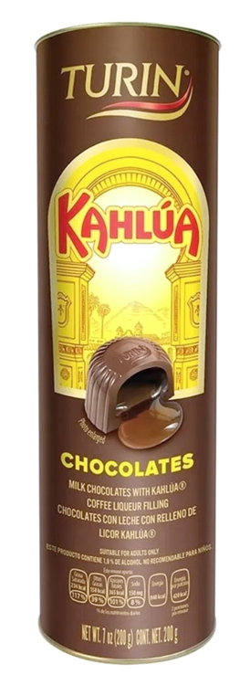 Chocolate Turín Kahlúa
