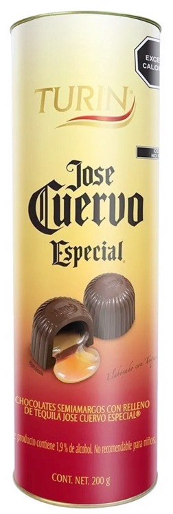 Chocolate Turín Relleno de Tequila Jose Cuervo