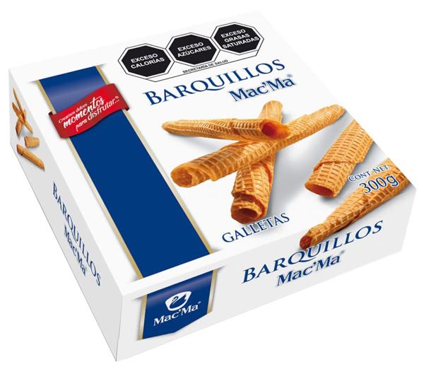 Galletas Barquillo Mac' Ma