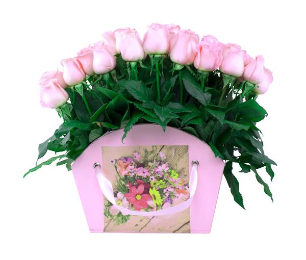 Abanico De Rosas Color Pastel