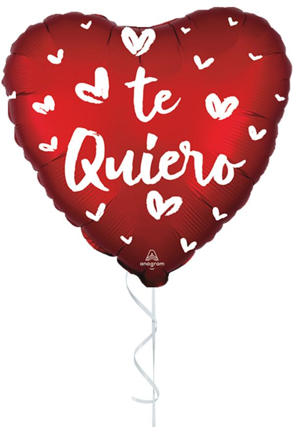 Globo con Helio Corazones te quiero