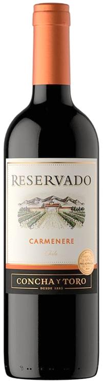 Vino Tinto Concha y Toro Reservado Carmenere 750 ml