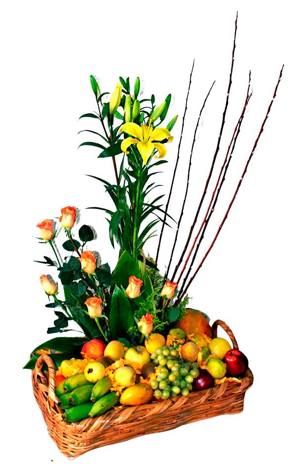 Floral & Frutal de Estación Naranja
