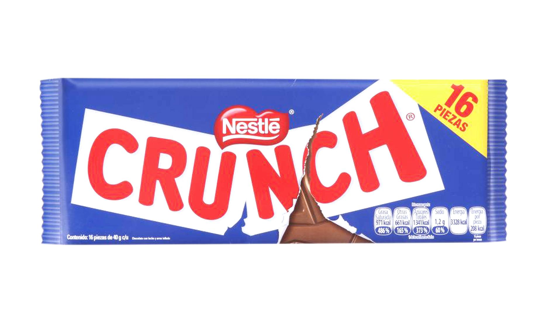 Crunch Nestlé Gigante